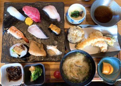伊都の寿司 にし川の寿司ランチ